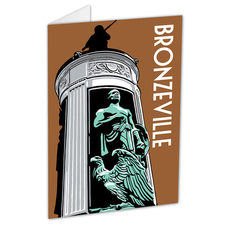 Bronzeville Neighborhood Greeting Card