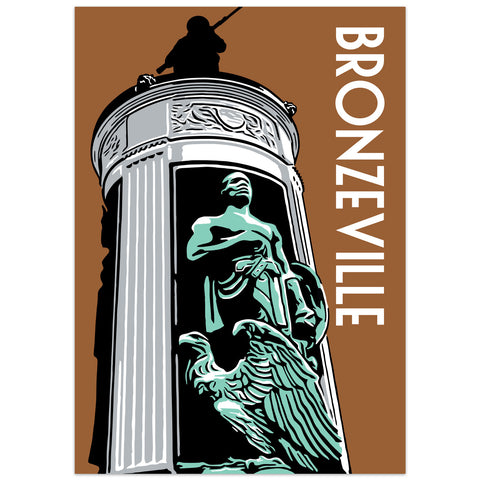 Bronzeville Neighborhood Poster