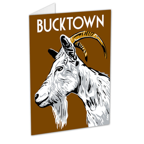 Bucktown Neighborhood Greeting Card