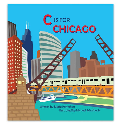 C is for Chicago - Hardcover Book