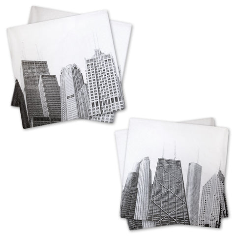 CAF Skyscrapers Cocktail Napkins - Pack of 20