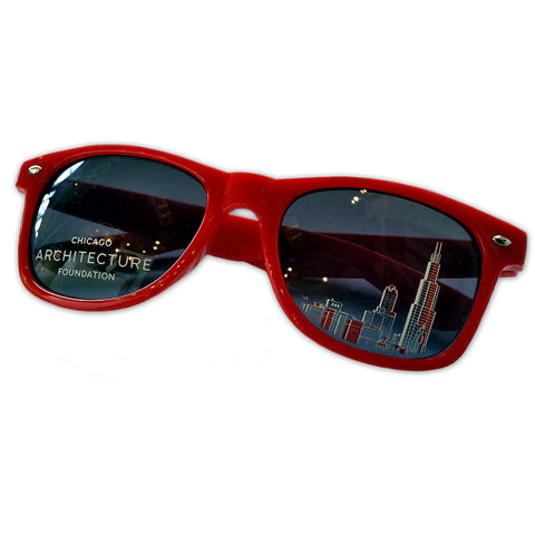 CAF Skyline Sunglasses - Red