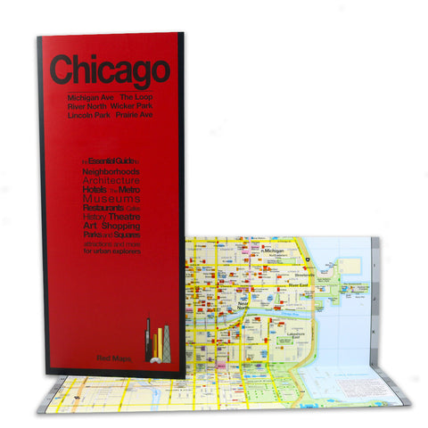 Red Map: Chicago