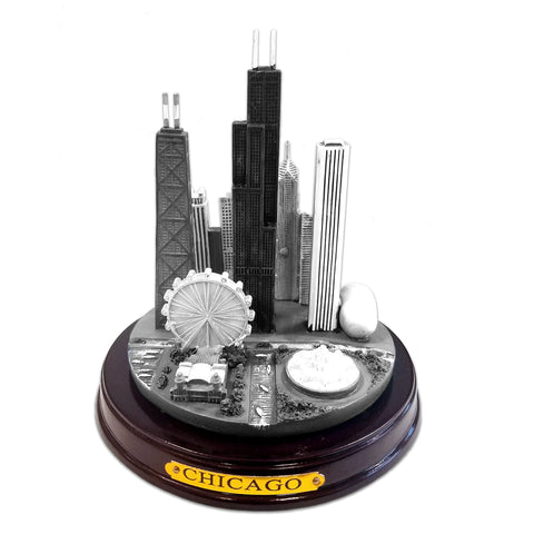 Chicago Skyline Paperweight