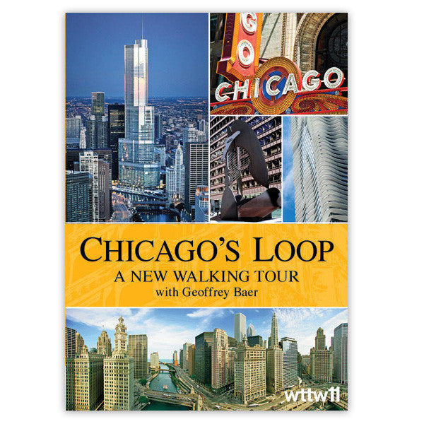 Chicago Architecture Foundation Walking Tour chicago's loop: a new walking tour with geoffrey baer dvd