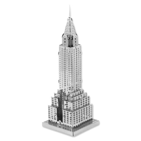 Chrysler Building - 3D Metal Model Kit