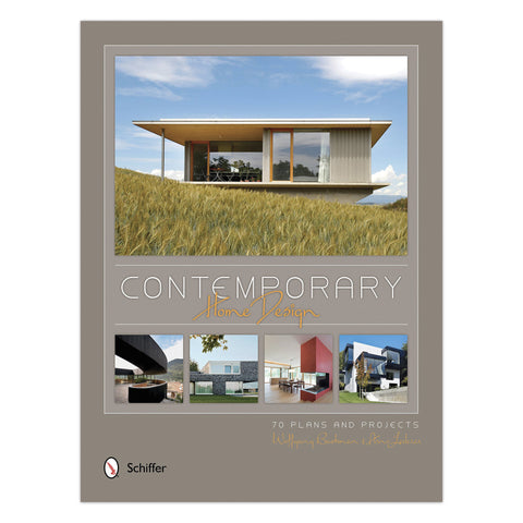 Contemporary Home Design - Hardcover Book