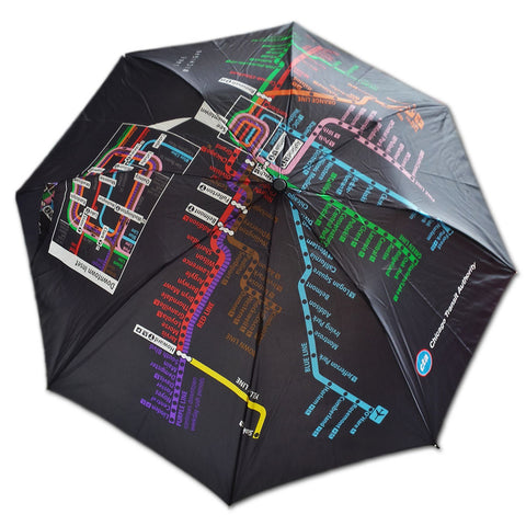 CTA Map Umbrella