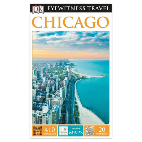 DK Eyewitness Travel Guide: Chicago - Paperback Book