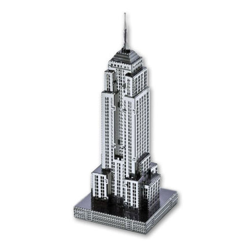 Empire State Building - 3D Metal Model Kit