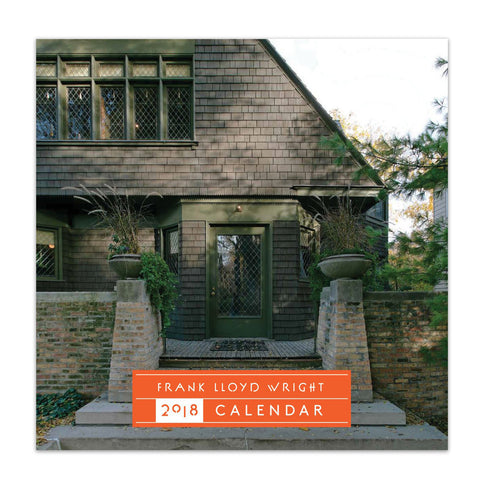 Frank Lloyd Wright 2018 Wall Calendar