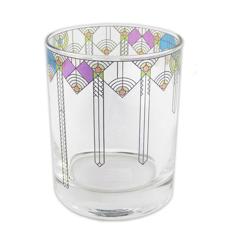 Frank Lloyd Wright April Showers Glass Tumbler