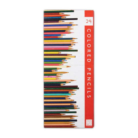 Frank Lloyd Wright Colored Pencils - Set of 24