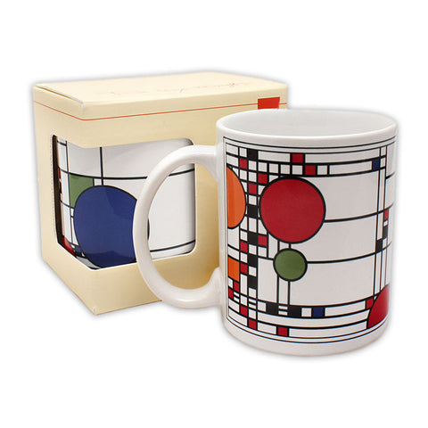 Frank Lloyd Wright Coonley Playhouse Mug