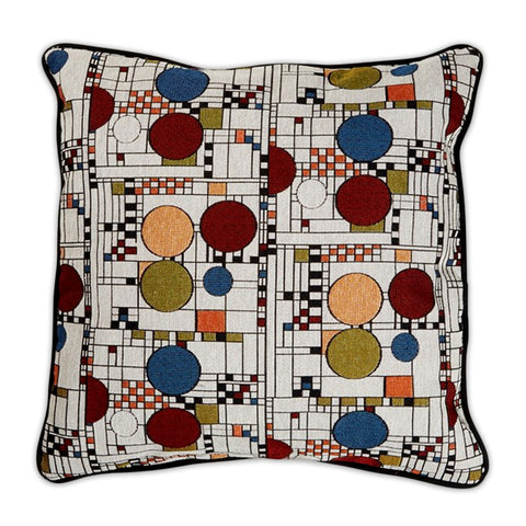 Frank Lloyd Wright Coonley Playhouse Pillow