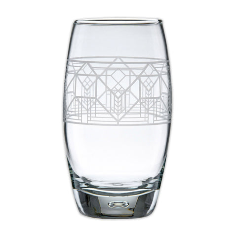 Frank Lloyd Wright Lake Geneva Cooler Glass