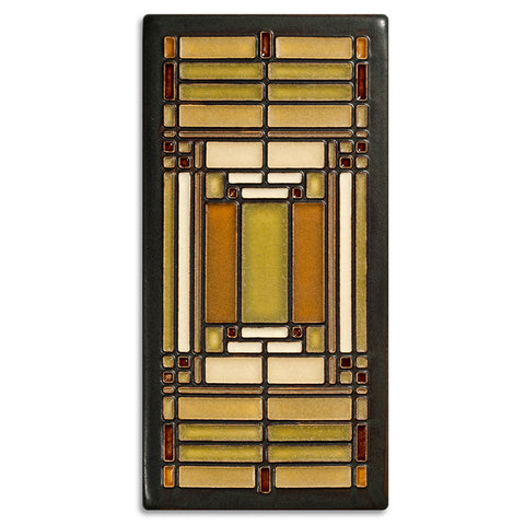 Frank Lloyd Wright Oak Park Skylight Motawi Tile