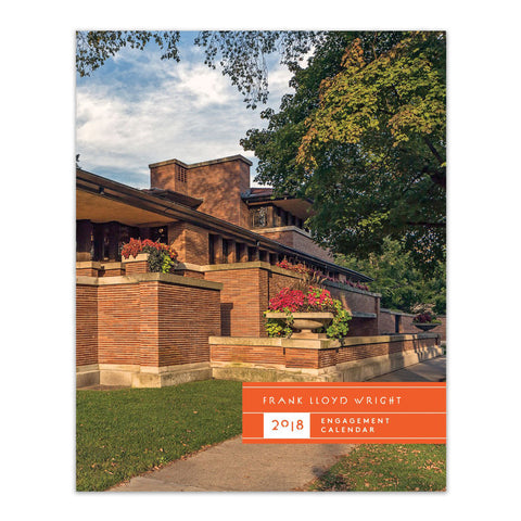 Frank Lloyd Wright 2018 Weekly Planning Calendar