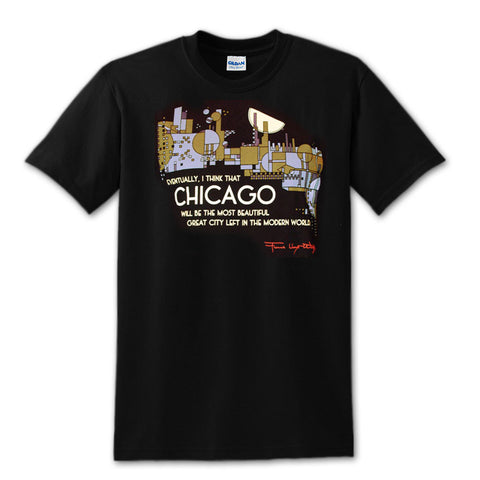 Frank Lloyd Wright Chicago T-Shirt