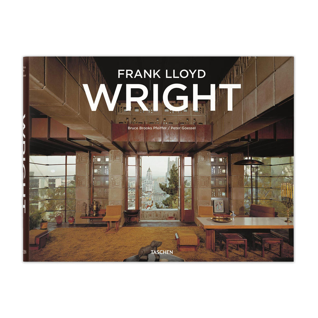 Frank lloyd wright hardcover book chicago architecture for Architecture frank lloyd wright