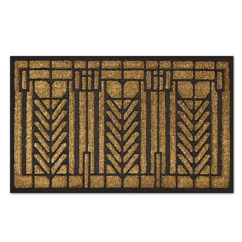 Frank Lloyd Wright Tree of Life Doormat