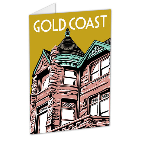 Gold Coast Neighborhood Greeting Card