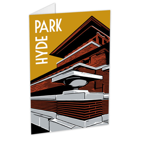 Hyde Park Neighborhood Greeting Card