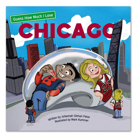 Guess How Much I Love Chicago - Board Book