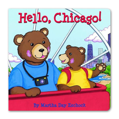 Hello, Chicago! - Board Book