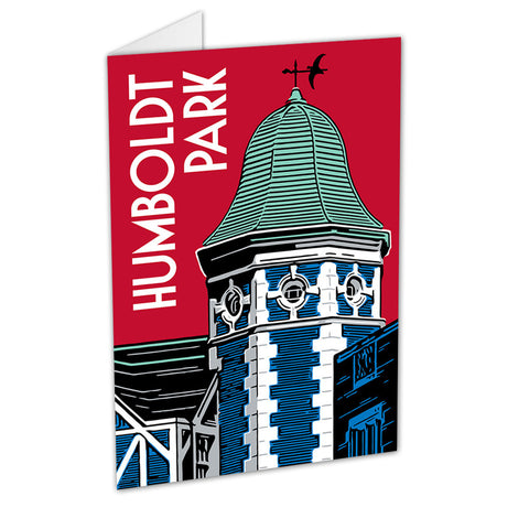 Humboldt Park Neighborhood Greeting Card