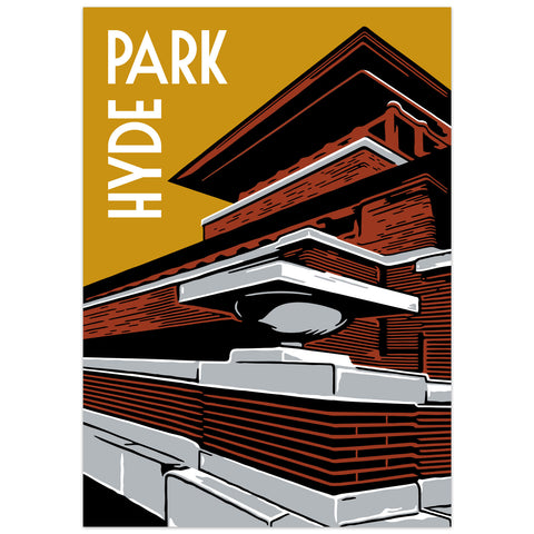 Hyde Park Neighborhood Poster