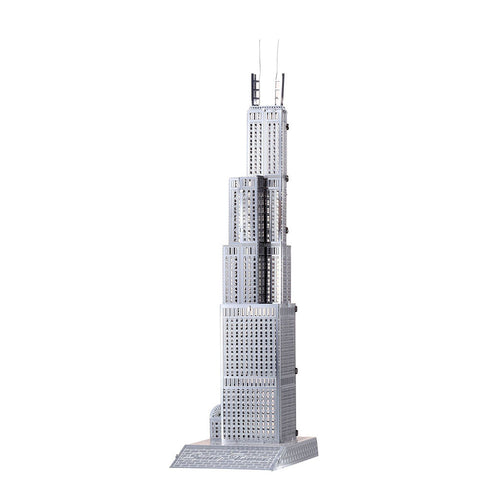 Sears Tower - 3D Metal Model Kit
