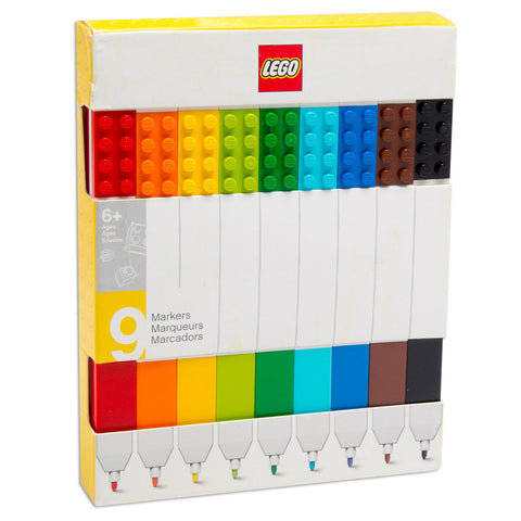 LEGO® Markers - Set of 9