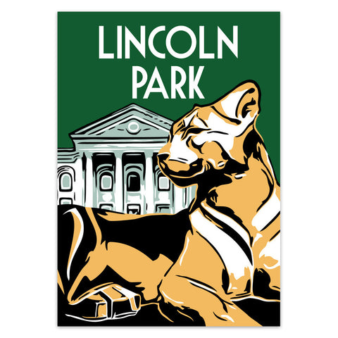 Lincoln Park Neighborhood Poster