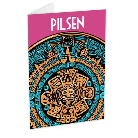 Pilsen Neighborhood Greeting Card
