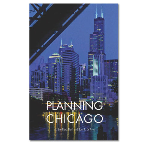 Planning Chicago - Paperback Book