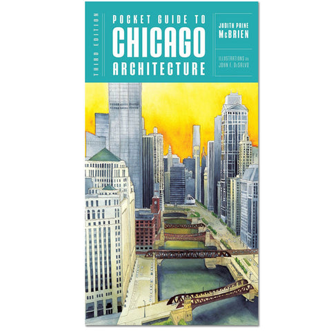 Pocket Guide to Chicago Architecture, 3rd Edition - Paperback Book