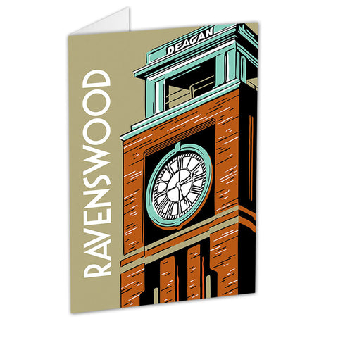 Ravenswood Neighborhood Greeting Card