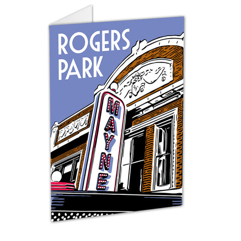 Rogers Park Neighborhood Greeting Card