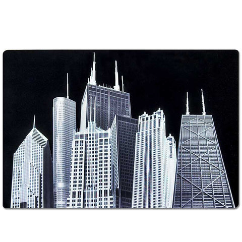 CAF Skyscrapers Placemat