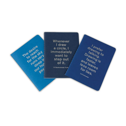 The Architect Says Notebooks - Set of 3