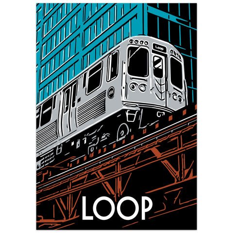 The Loop Neighborhood Poster