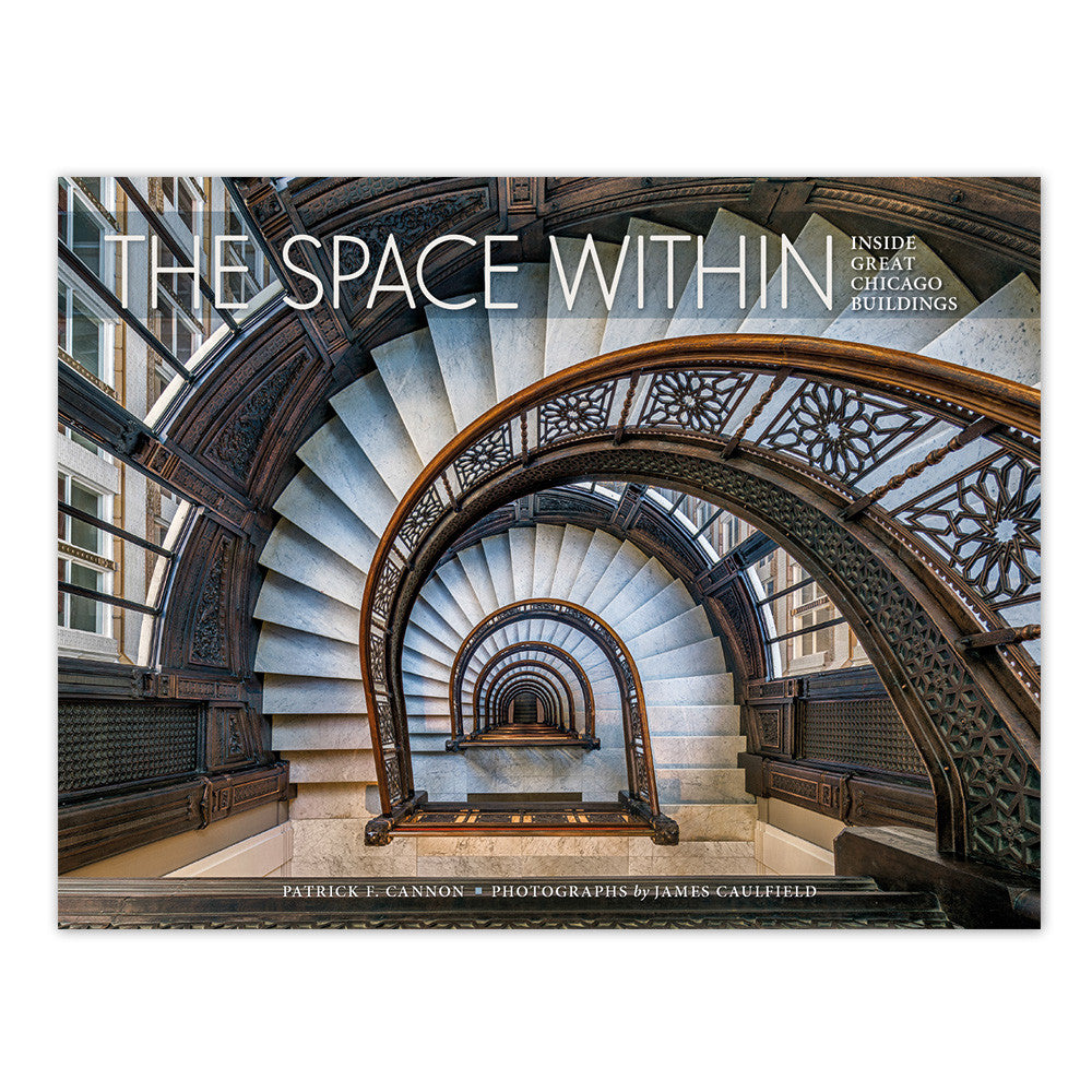 Books about chicago chicago architecture foundation shop the space within inside great chicago buildings hardcover book geotapseo Choice Image
