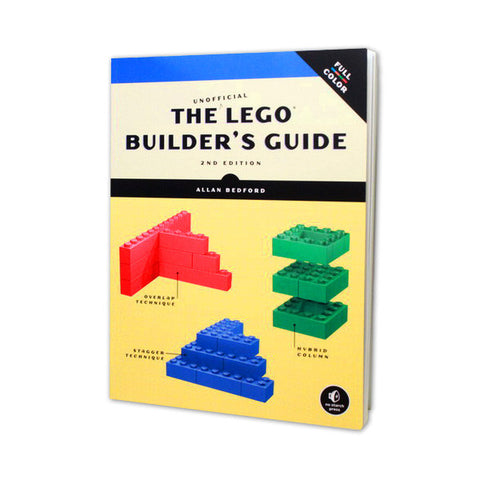 The Unofficial LEGO Builder's Guide - Paperback Book