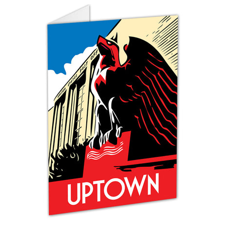 Uptown Neighborhood Greeting Card