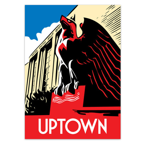 Uptown Neighborhood Poster