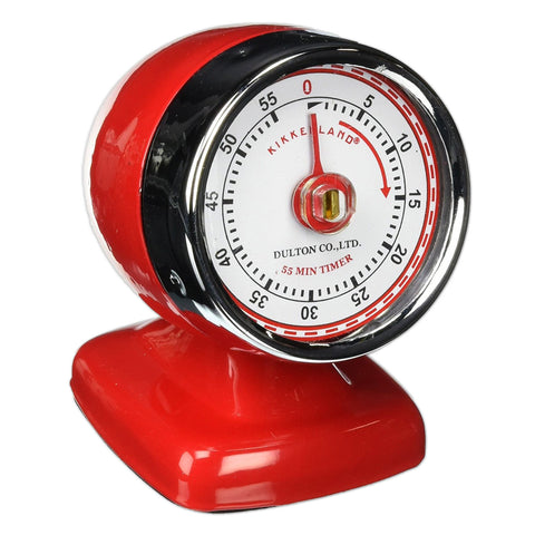 Vintage Kitchen Timer - Red
