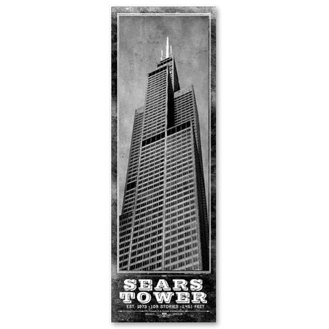 Vintage Sears Tower Poster