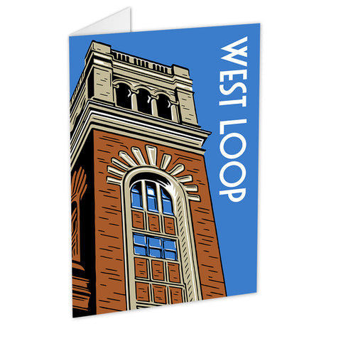 West Loop Neighborhood Greeting Card