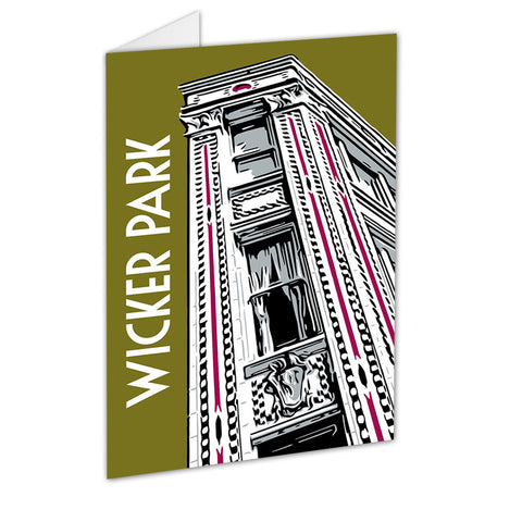 Wicker Park Neighborhood Greeting Card